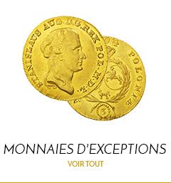 Monnaies Dexceptions